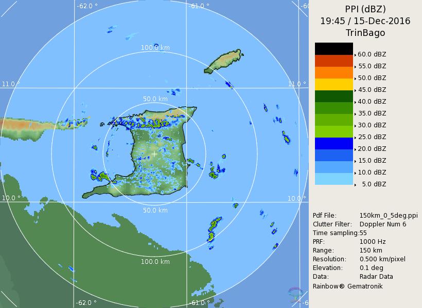 Radar | Trinidad & Tobago Meteorological Service