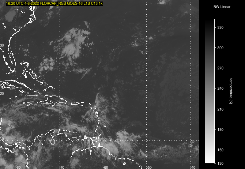 Caribbean Weather Map Forecast.Satellite Trinidad Tobago Meteorological Service